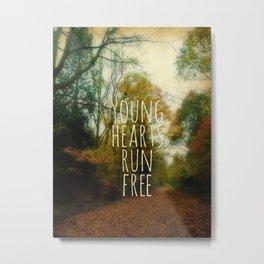 Young Hearts Metal Print