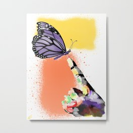 Come here sweet butterfly Metal Print