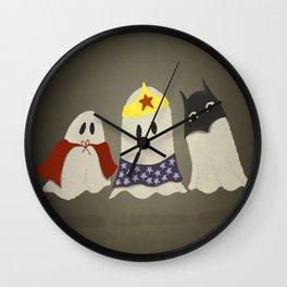 Ghost Cosplay Wall Clock