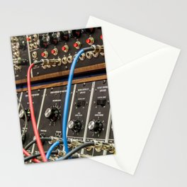 Modular synth 2 Stationery Cards