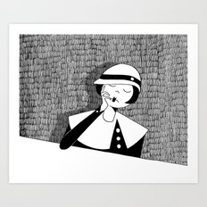 oh, give me time for tenderness Art Print