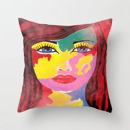 Spectra Throw Pillow