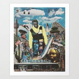 THE WONDERFUL WORLD OF FUN! Art Print