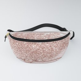 Blush Pink Sparkles Fanny Pack