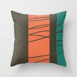 High Stakes #minimal  Throw Pillow