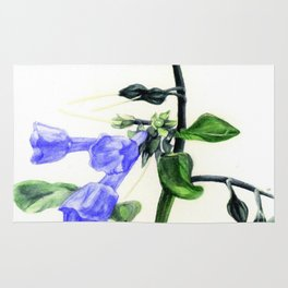 Virginia Bluebells Rug