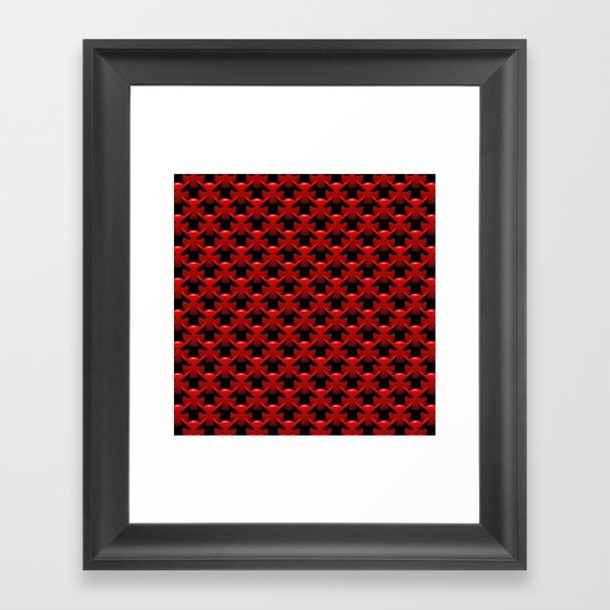 """Little Red Devils"" Framed Art Print"