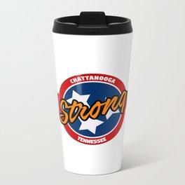 Chattanooga Strong Metal Travel Mug
