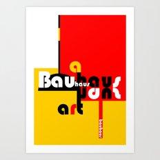 Bauhaus Lamp Art Print