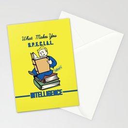 Intelligence S.P.E.C.I.A.L. Fallout 4 Stationery Cards