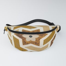 GEOMETRY WALL Fanny Pack