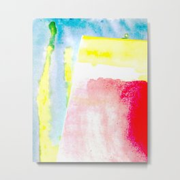 Primary New Year Colors Metal Print