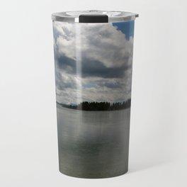 Yellowstone Lake View Travel Mug