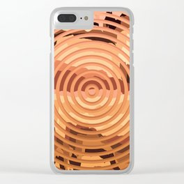 TOPOGRAPHY 2017-000 Clear iPhone Case
