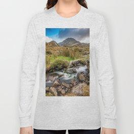 Tryfan Snowdonia National Park Long Sleeve T-shirt