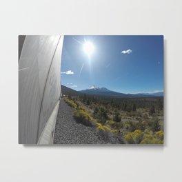 Mount Shasta Metal Print