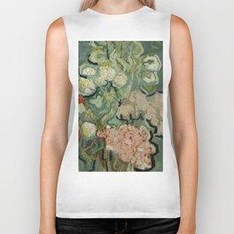 "Vincent Van Gogh ""Vase of Flowers"" Biker Tank"