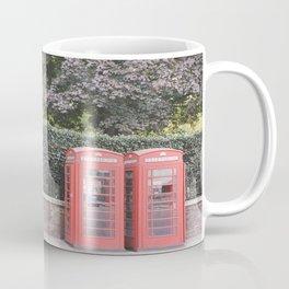 London Phone Booths Coffee Mug