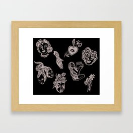 Things Framed Art Print