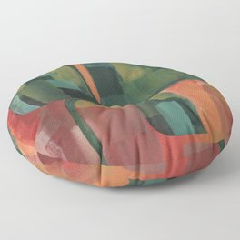 Plight and Regrowth Floor Pillow