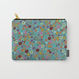 Playful Watercolor dots pattern Carry-All Pouch