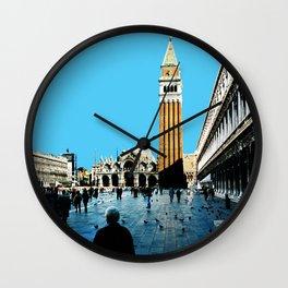 Venezia Panorama San Marco by FRANKENBERG Wall Clock