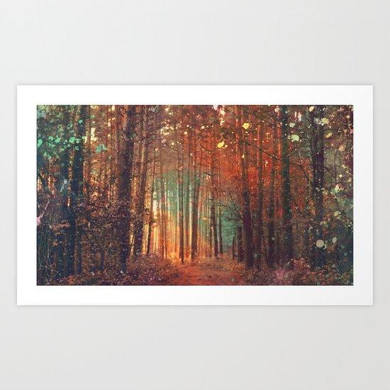 Forest1 Art Print