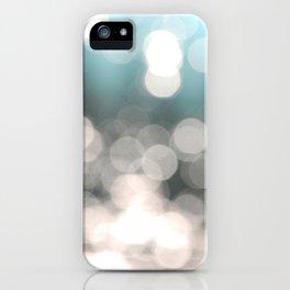 Aqua and Grey iPhone Case