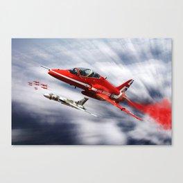 Farewell to XH558 Canvas Print