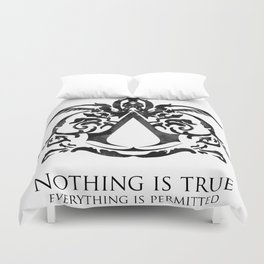 Assassin's Creed - Nothing is True Duvet Cover