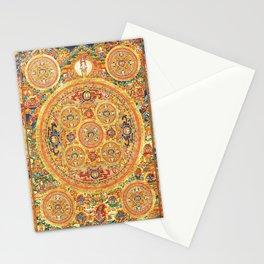 Buddhist Mandala Five Circles 2 Stationery Cards