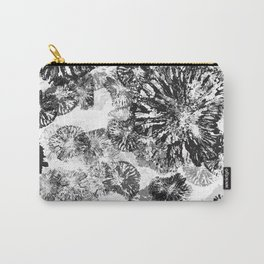 Monkey Stamps Turned Into Flowers Carry-All Pouch