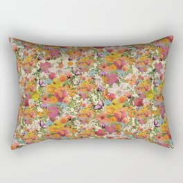 FLORAL // LIFE OF FLOWERS Rectangular Pillow
