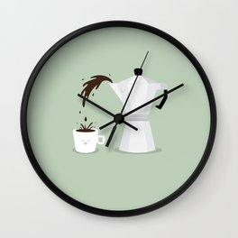 Espresso Time! Wall Clock