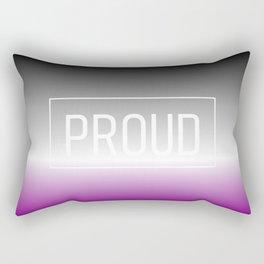 Asexual Flag - Pride Rectangular Pillow