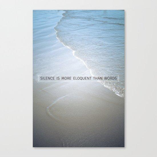 Eloquence Canvas Print
