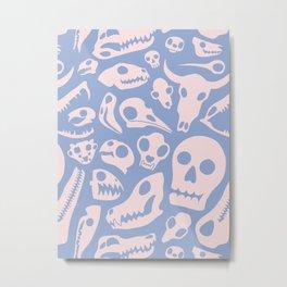Soft Skulls Metal Print
