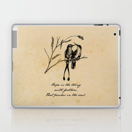 Emily Dickinson - Hope is the Thing with Feathers Laptop & iPad Skin