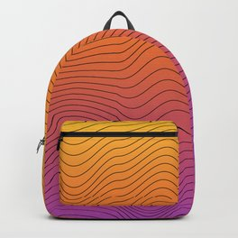 lines in the color Backpack