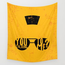 Taxi Driver - you talking to me? Wall Tapestry