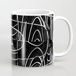 Monochrome Wires Coffee Mug