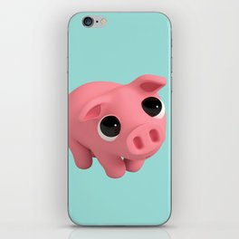 Rosa the Pig is shy iPhone Skin