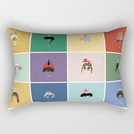 Miyazaki's world. Rectangular Pillow