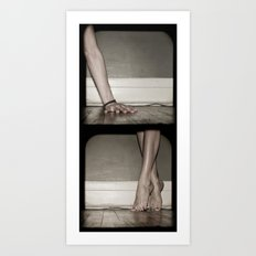 Top/Bottom Art Print