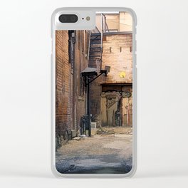 Artistry - Graffiti Wall Clear iPhone Case