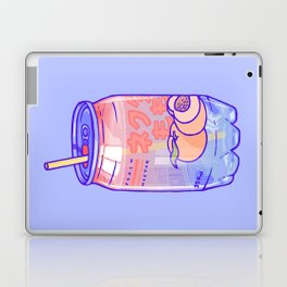 Peach Bubbles Laptop & iPad Skin