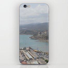 Dreamy landscape iPhone Skin