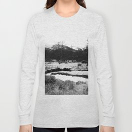 Snow on the hills Long Sleeve T-shirt