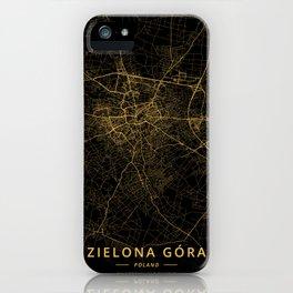Zielona Gora, Poland - Gold iPhone Case