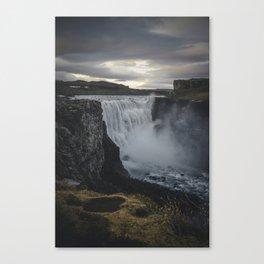 Dettifoss, Iceland Canvas Print